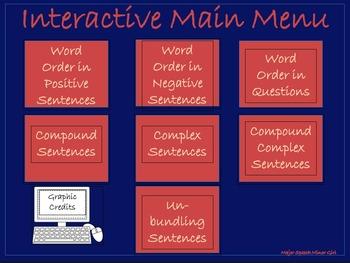 NO PRINT: Speech Therapy: Interactive Sentence Bundle