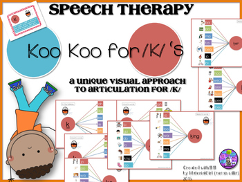 Speech Therapy /K/ Articulation VISUAL AUTISM SPECIAL ED C