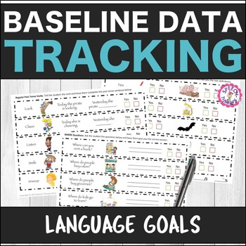 Speech Therapy Language Baseline Data