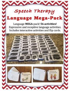 Language MEGA Bundle -- Speech Therapy
