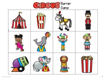 "Language Pack: ""Let's Go to the Circus!"""