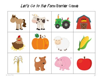 """Language Pack: """"Let's Go to the Farm!"""""""