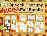 Fall Speech and Language Therapy MEGA Bundle