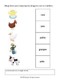 Matching Activity: Nouns & Vocabulary (English Version)