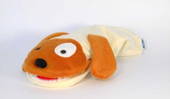 Speech Therapy Materials – Doggy Hand Puppet