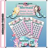 Speech Therapy: Mermaid Bracelets - Bilabial CV combinations