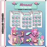 Speech Therapy: Mermaid CVC Tic-Tac-Toe