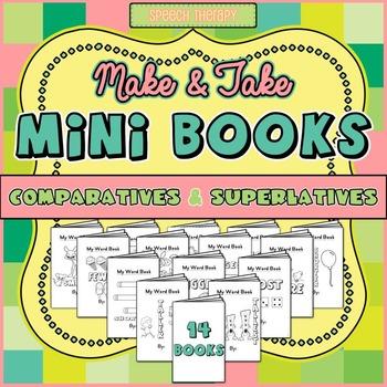 Minibooks: Comparative and Superlative Words