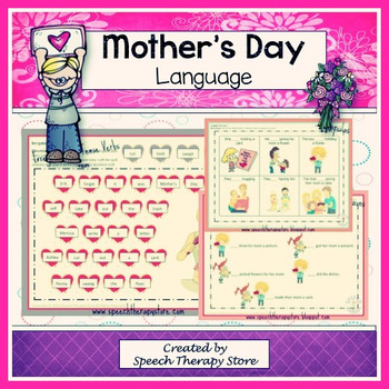 Speech Therapy Mother's Day Language Bundle
