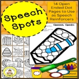 Speech Therapy Open Ended Dot Marker Page Activities