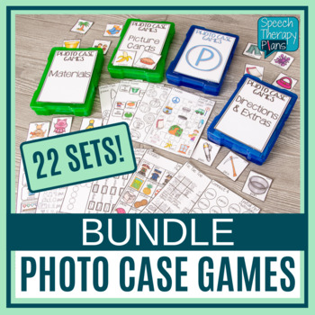 Photo Case Bundle: Speech Activities and Games