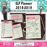 Speech Therapy Planner Calendar for 2018 to 2019