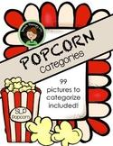 Speech Therapy Popcorn - Categories/Description