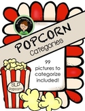 Speech Therapy Popcorn - Categories/Description