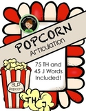 Speech Therapy Popcorn - TH and J