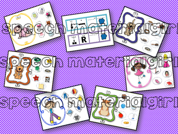 Speech Therapy Possessive 's Grammar Activity No Prep Visual Sentence strip