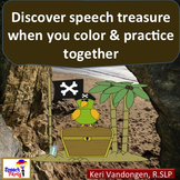 Speech Therapy Practice Printable Activity