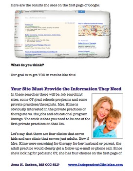 Speech Therapy Private Practice: Building Your Online Presence