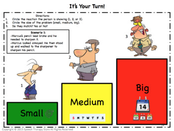 Speech Therapy Problem Size Amp Reaction Size By Speech