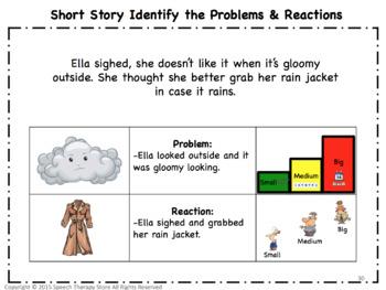 Speech Therapy Problem Size & Reaction Size