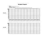 Speech Therapy Progress Chart