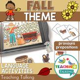 Fall Preschool Language Activities