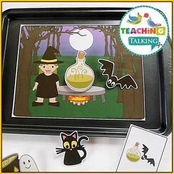 Halloween Preschool Language Activities