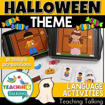 Speech and Language Halloween