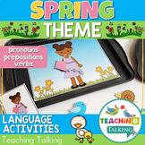 Spring Preschool Language Activities