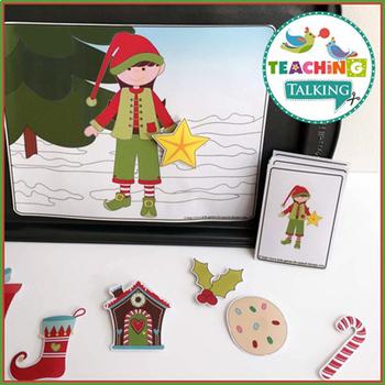 Christmas Preschool Language Activites