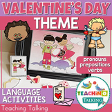 Valentine's Day Preschool Language Activities