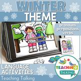 Winter Preschool Language Activities