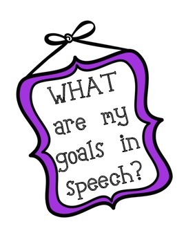 Speech Therapy Reflection Questions