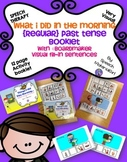 Speech Therapy Regular Past Tense booklet ©Boardmaker sentences Interactive
