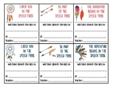 Speech Therapy Reminders - Tribal Theme