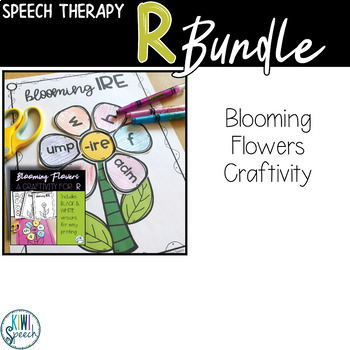 Speech Therapy Resource Bundle for R