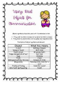 Speech Therapy Resource - Communication Program