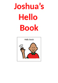 Speech Therapy Resource: Hello and Conversational Starter Book - Editable