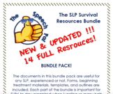 Speech Therapy (SLP) Resources Bundle - UPDATED!