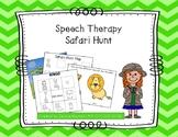 Speech Therapy Safari Hunt