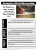 Speech Therapy Self-Advocacy Role Play Activity for High School Students