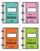 {FREEBIE} Speech Therapy Reminder Slips - EDITABLE