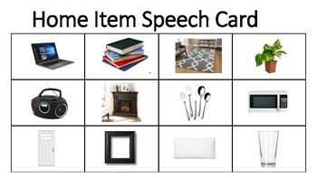 Speech Therapy Sheets