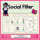 Speech Therapy Social Filter for Students with Autism
