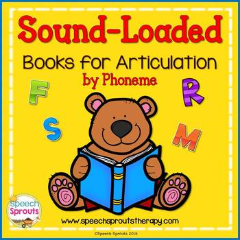 Speech Therapy : Sound-Loaded Book List For Articulation