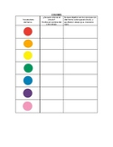 Speech Therapy Spanish Vocab w/ Questions: Colores/Colors