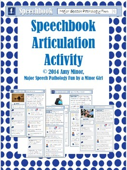 Speech Therapy: Speechbook Articulation Activity