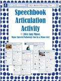 Speech Therapy: Speechbook Articulation Activity
