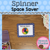 Speech Therapy Spinner Placemat  FREE