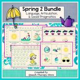 Speech Therapy Spring 2: Language, Articulation, & Social Pragmatics